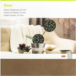 "Cricut Heavy Chipboard 11""X11"" 5/Pkg  - 2004854"