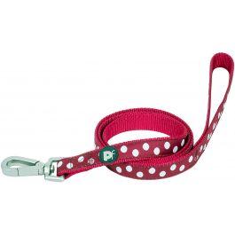 Petface Dots Leash Medium Cherry & White - PET30352