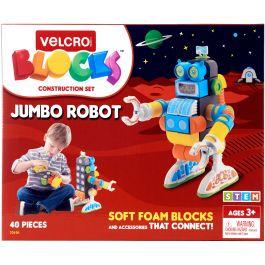 Velcro(R) Blocks(Tm) Construction Set Jumbo Robot - 70191