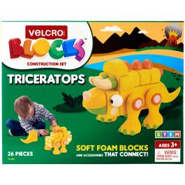 Velcro(R) Blocks(Tm) Construction Set Triceratops - 70193