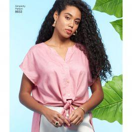 Pattern 8653 Sportswear-20W-28W