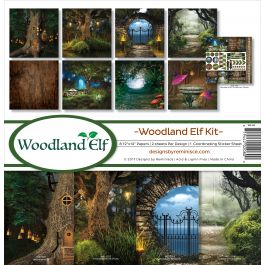 "Reminisce Collection Kit 12""X12"" Woodland Elf - WE200"