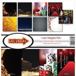 "Reminisce Collection Kit 12""X12"" Las Vegas - VEG200"