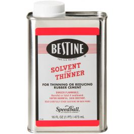 Bestine Solvent And Thinner 1 Pint - R201