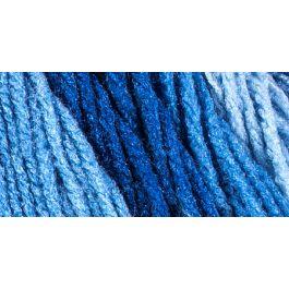 Red Heart Super Saver Ombre Yarn True Blue - E305-3962