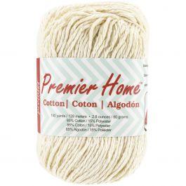 Premier Yarns Home Cotton Yarn  Solid Cream - 38-2