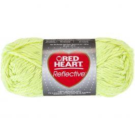 Red Heart Reflective Yarn Neon Yellow - E820-8242