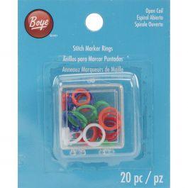 Boye Stitch Marker Rings 20/Pkg - 7581000M
