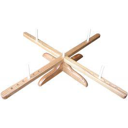 Chiaogoo Amish Design Wooden Yarn Swift  - 1098