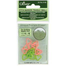 Triangle Stitch Markers Sizes 5 To 8 16/Pkg - 3149