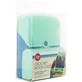 Boye Hard Plastic Crochet Hook Case W/Storage Compartment For Accessories - 274001