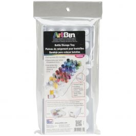 "Artbin Super Satchel Glitter Glue Tray 12.25""X6"" Holds 32 Bottles - 6951AB"