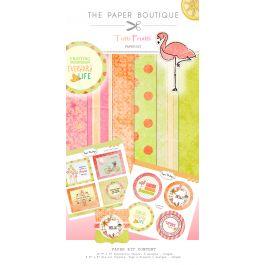 """Tutti Frutti Paper & Topper Kit 8""""X8"""" 44/Pkg Tutti Frutti - PB014"""