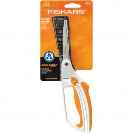 "Fiskars Easy Action Bent Scissors 10""  - 129911"