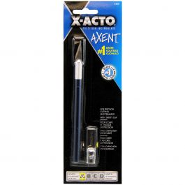 X Acto(R) Axent #1 Craft Knife W/Cap Blue - X3037