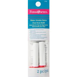 Fons & Porter Water Soluble Glue Refill 2/Pkg  - 7776