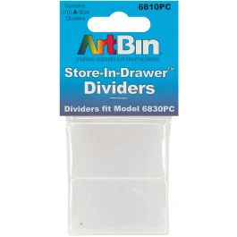 Artbin Store In Drawer Dividers 10/Pkg Fits 6830Pc - 6810PC