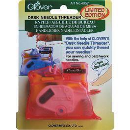 Clover Desk Needle Threader Pink - 4073