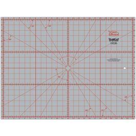 "Truecut Double Sided Rotary Cutting Mat 18""X24""  - TCM18X24"