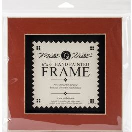 "Mill Hill Wooden Frame 6""X6"" Rust - GBFRM-13"