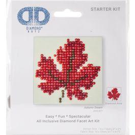 "Diamond Dotz Diamond Embroidery Facet Art Kit 4.75""X4.75"" Autumn Dream - DDS021"