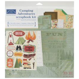 "Karen Foster Scrapbook Page Kit 12""X12"" Camping Adventures - KF20529"