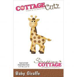 """Cottagecutz Die Baby Giraffe 1.4""""X2.3"""" - CC-005"""