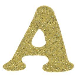 "Dritz Iron On Letters Soft Flex  1.25"" Cooper Gold Metallic - SF152-70"