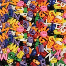 Alphabet Beads 288/Pkg Uppercase - 3253