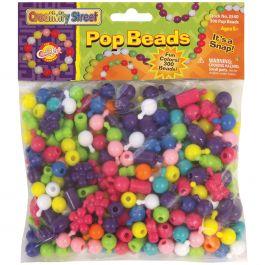 Pop Beads 300/Pkg Assorted Shapes - CKC3540