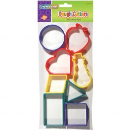 Creativity Street Dough Cutters 8/Pkg Set 2 - 9765