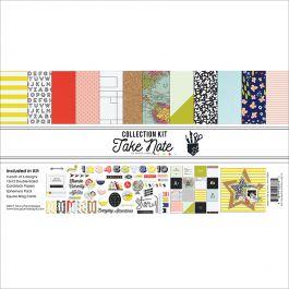 """Fancy Pants Designs Collection Kit 12""""X12"""" Take Note - TN2878"""