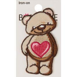Blumenthal Iron On Appliques Teddy Bear - A01300A-234