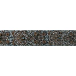 "Simplicity Metallic Woven Paisley Band 1.55""X12Yd  - 186 1027-001"
