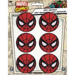 "C&D Visionary Marvel Comics Patch Spiderman 6/Pkg 1.75"" - P-MVL6-0039"