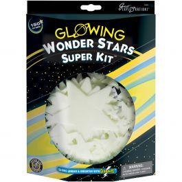 Glowing Stars Super Kits 150/Pkg Wonder Stars - 19491