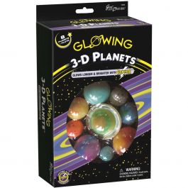 Glowing 3D Planets Kit  - 19466