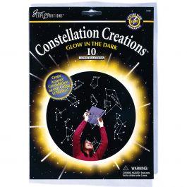 Glow In The Dark Constellations Creations 10/Pkg  - 29483