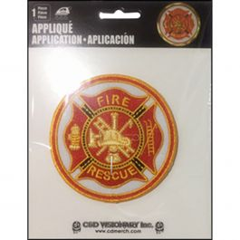 "C&D Visionary Patch Fireman 3"" - P2-4494"