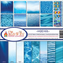"Ella & Viv Collection Kit 12""X12"" H2O - EAV795"