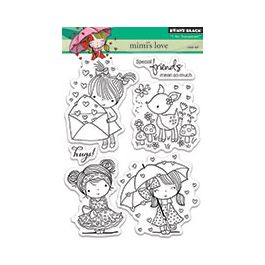 Penny Black Clear Stamps Mimi'S Love - PB30270