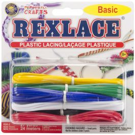 Rexlace Plastic Lacing 27Yd Basic - RX6-2