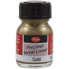 Viva Decor Precious Metal Color 25Ml Gold - VD1503-3901