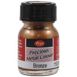 Viva Decor Precious Metal Color 25Ml Bronze - VD1503-3903