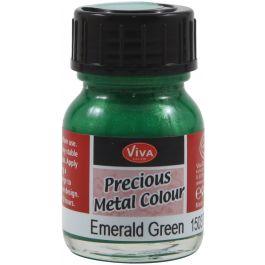 Viva Decor Precious Metal Color 25Ml Emerald Green - VD1503-3701