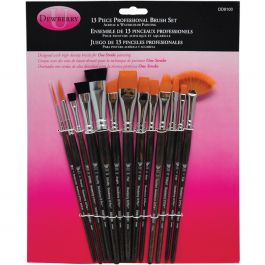 Donna Dewberry Professional Brush Set 13/Pkg - DD8100
