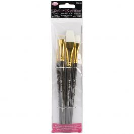 Donna Dewberry Glass Brush Set 4/Pkg - DD8150