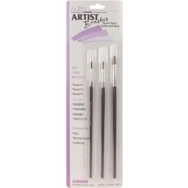 Red Sable Artist Brush Set 3/Pkg - A333