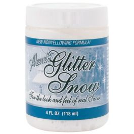 Aleene'S Glitter Snow 4Oz  - SP408