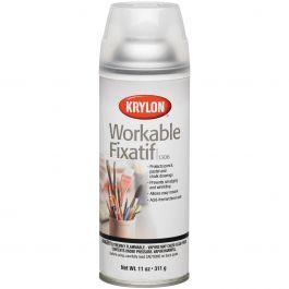 Workable Fixatif Aerosol Spray 11Oz - 1306